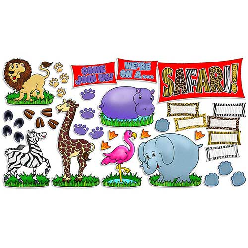 SAFARI ANIMALS BB SET