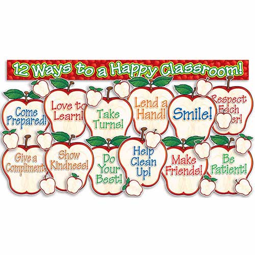 HAPPY CLASSROOM APPLES BB SET