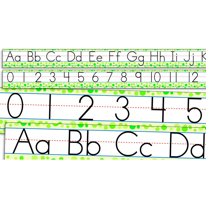 STANDARD MANUSCRIPT ALPHABET AND