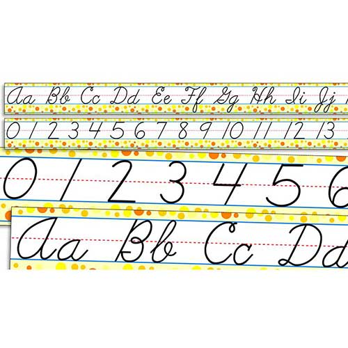 STANDARD CURSIVE ALPHABET AND