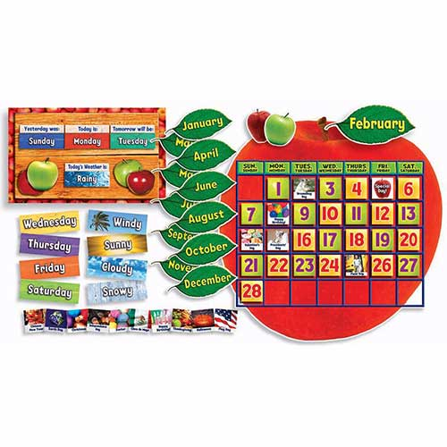 APPLE PHOTO CALENDAR BB SET GR PK-5
