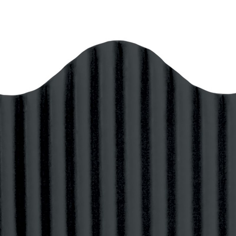 CORRUGATED BORDER BLACK