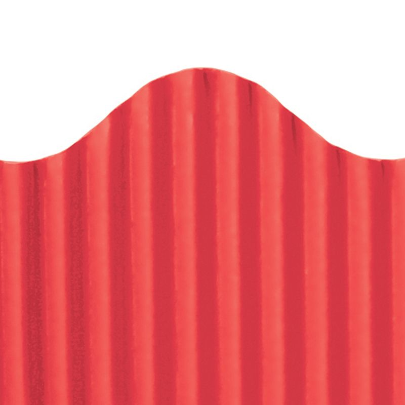 CORRUGATED BORDER RED