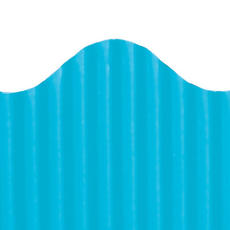 CORRUGATED BORDER BRITE BLUE
