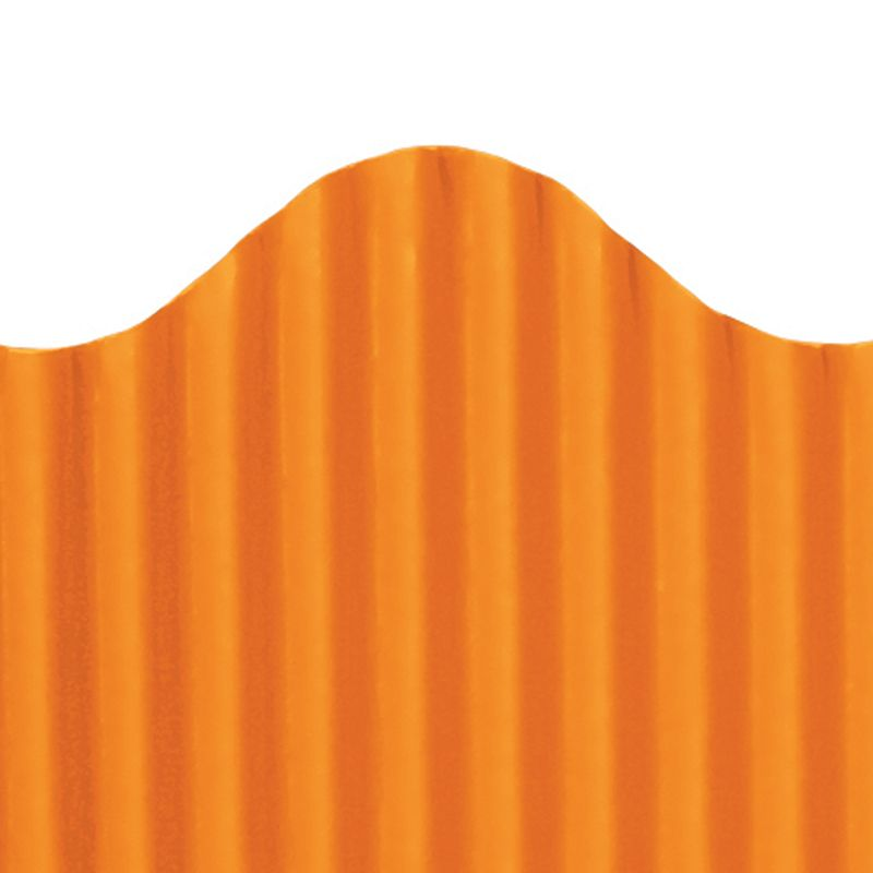 CORRUGATED BORDER ORANGE