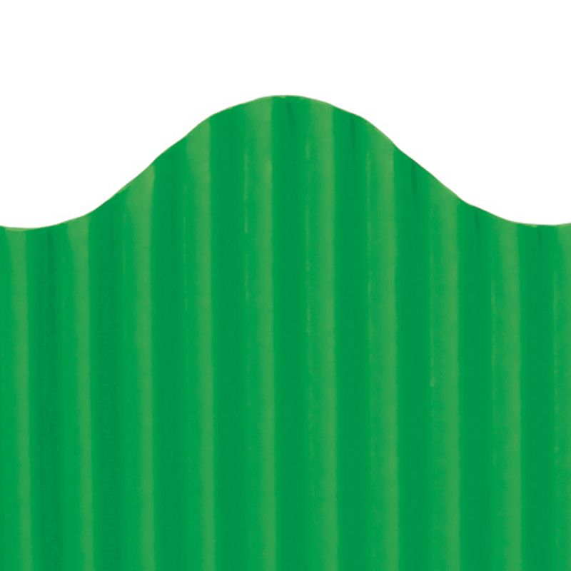 CORRUGATED BORDER DEEP GREEN