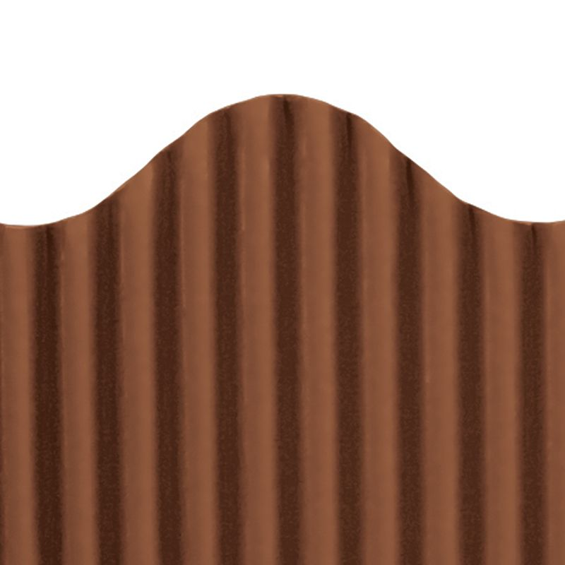 CORRUGATED BORDER BROWN