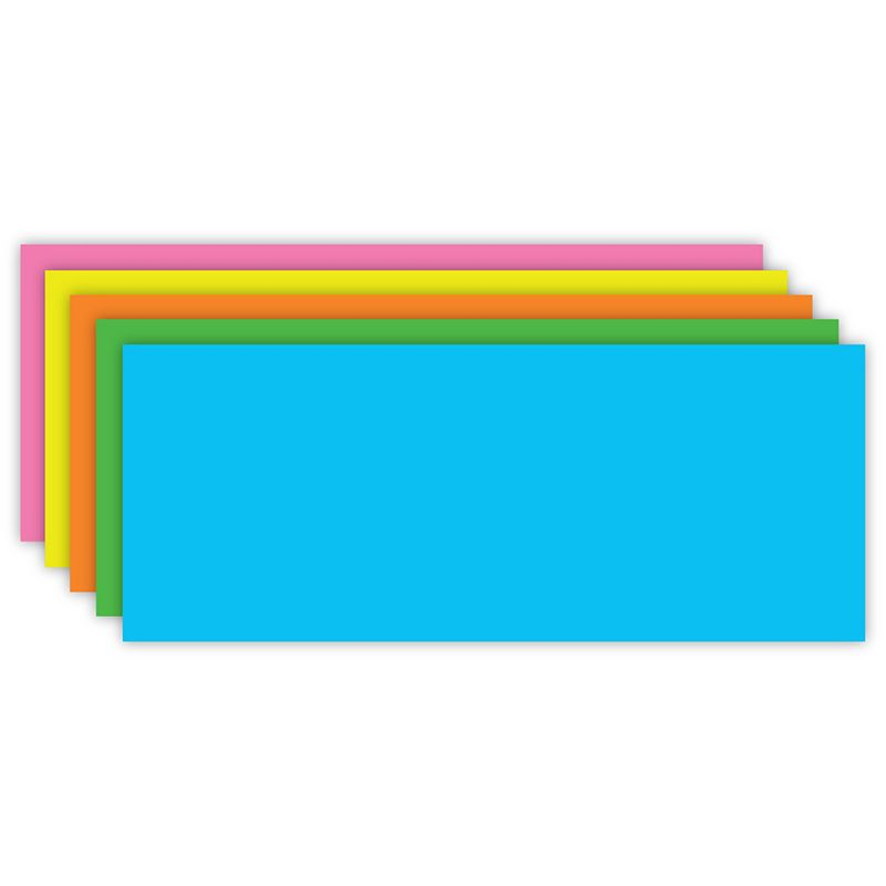FLASH CARDS BRITE ASST BLANK 100CT
