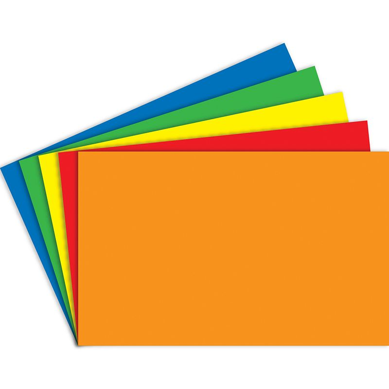 INDEX CARDS BLANK 100CT 5X8 PRIMARY