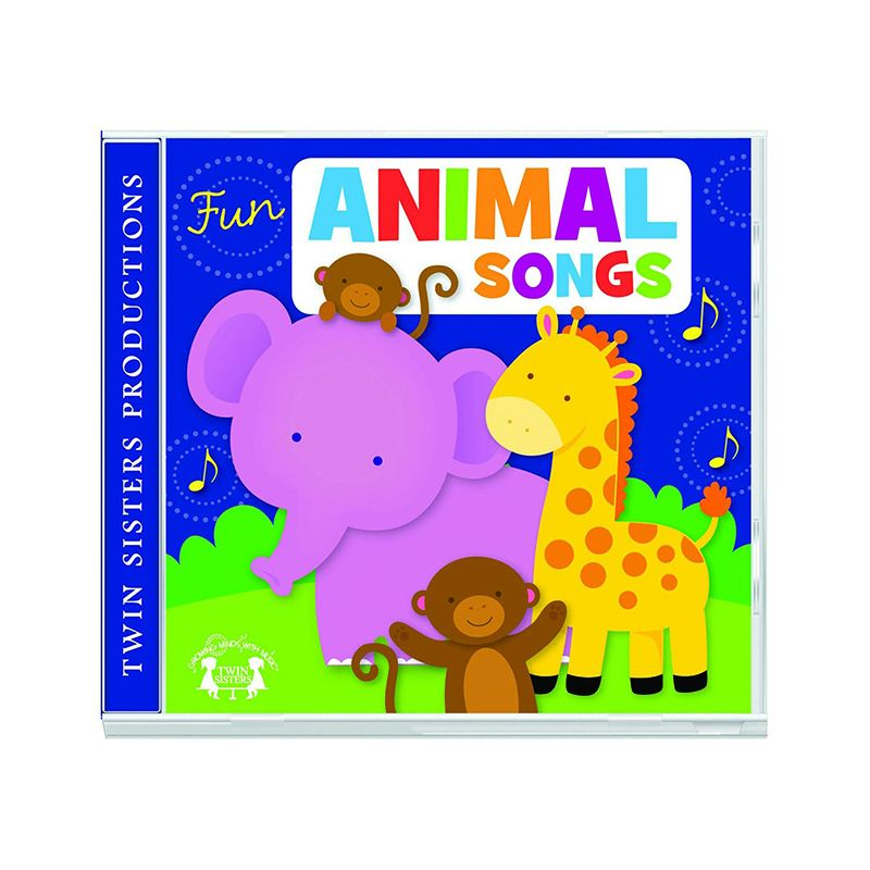 FUN ANIMAL SONGS CD