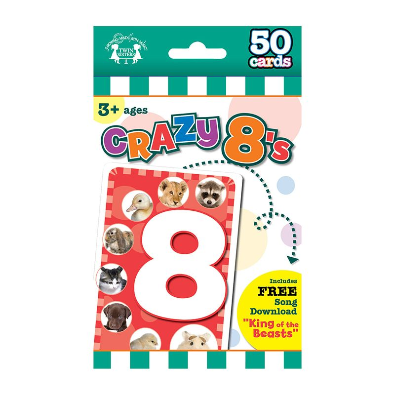 GAME FLASH CARDS CRAZY 8 S