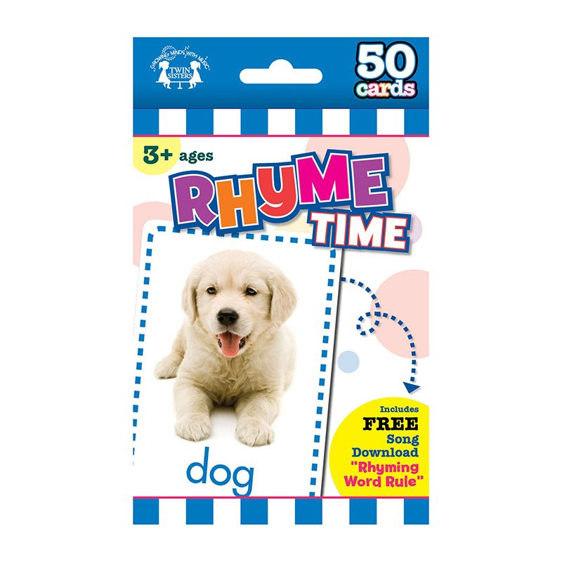 GAME FLASH CARDS RHYME TIME