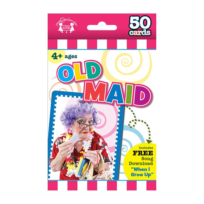 GAME FLASH CARDS OLD MAID