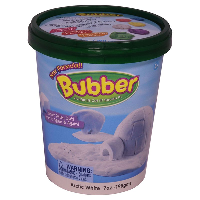 BUBBER 7 OZ. BUCKET WHITE