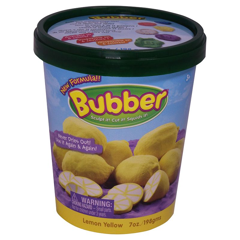 BUBBER 7 OZ. BUCKET YELLOW
