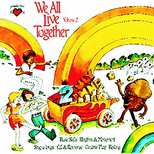 WE ALL LIVE TOGETHER VOLUME 2 CD