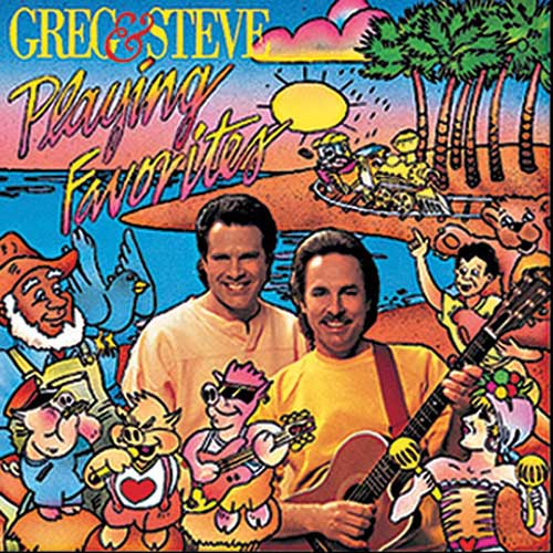 PLAYING FAVORITES CD GREG & STEVE
