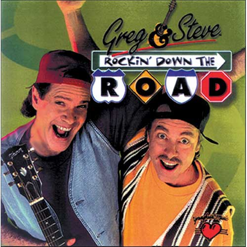 ROCKIN DOWN THE ROAD CD GREG &