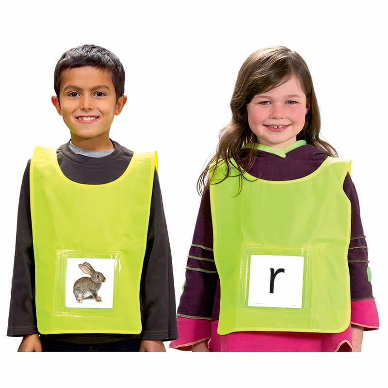 ACTIVE LEARNING VESTS 6PK
