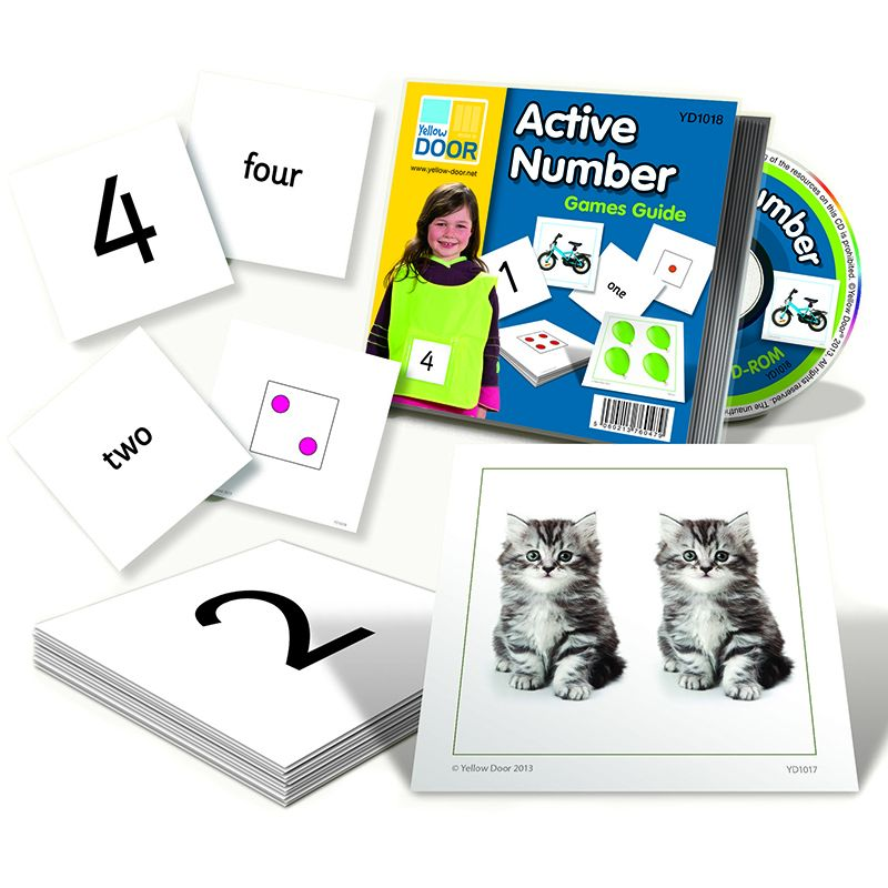 ACTIVE NUMBER CARDS