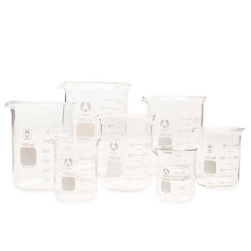 Beaker  Glass  50 mL