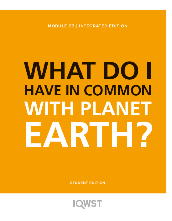 Student Edition 8pack - IE7.3 - What Do I Have in Common with Planet Earth?