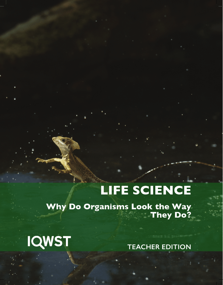 Teacher Edition - LS3 - Why Do Organisms Look the Way They Do? - 3.0.1