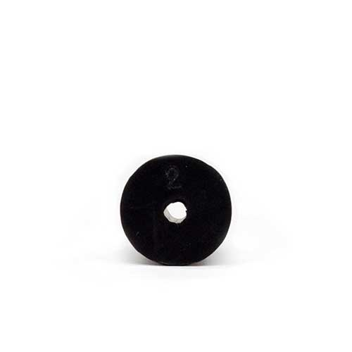 Rubber Stopper #6 With Hole